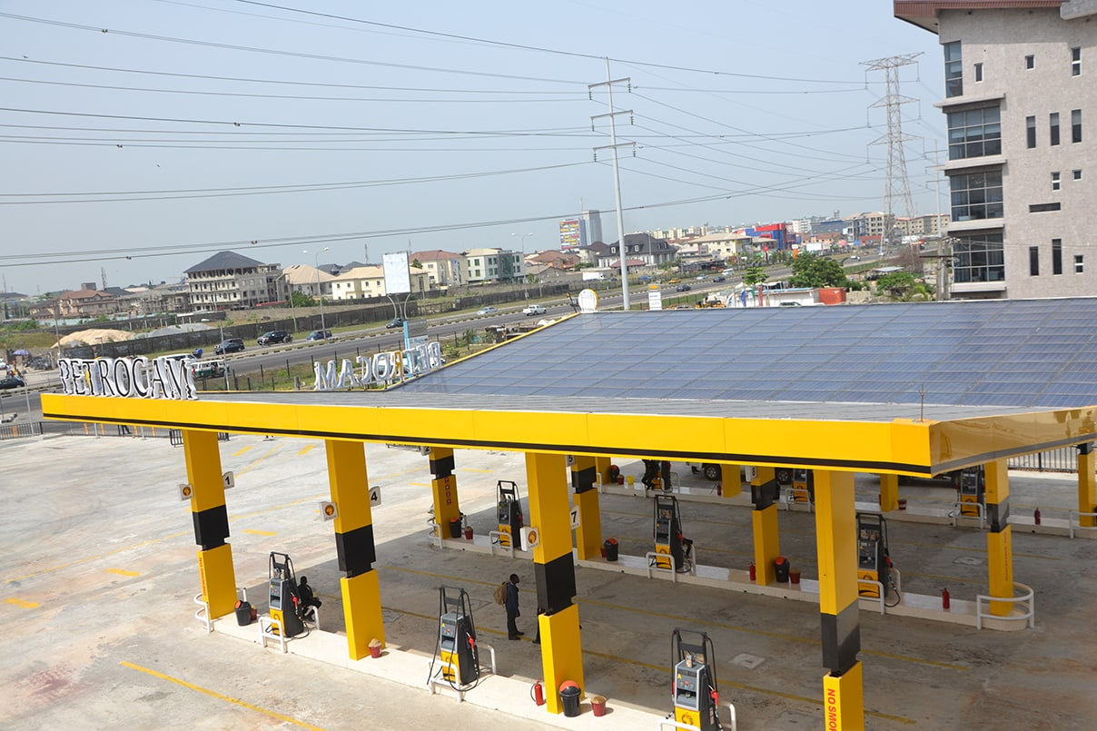 93.84 KWP Off-Grid Solar Powered Filling Station