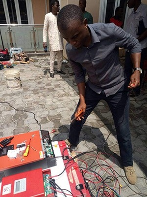 Gennex Solar Academy field work