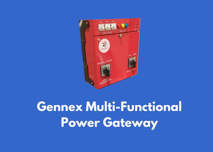 Gennex Multi-Functional Power Gateway