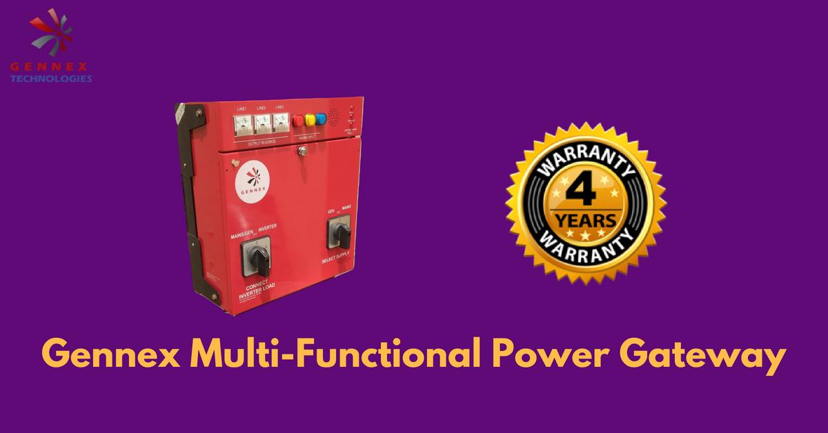 Warranty Period for Gennex Multi-Functional Gateway