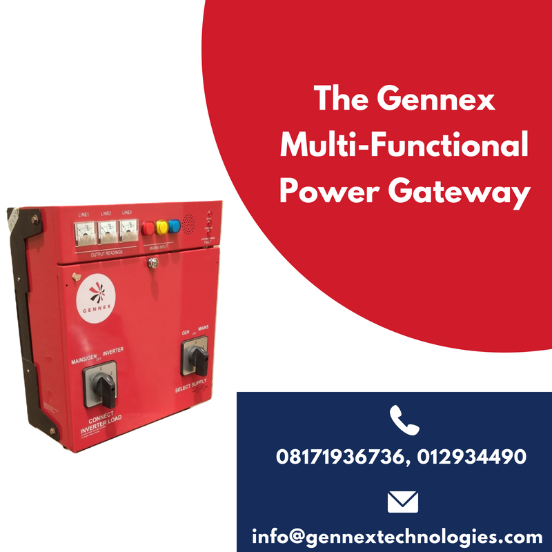 Gennex Multi-Functional Power Gateway Advert