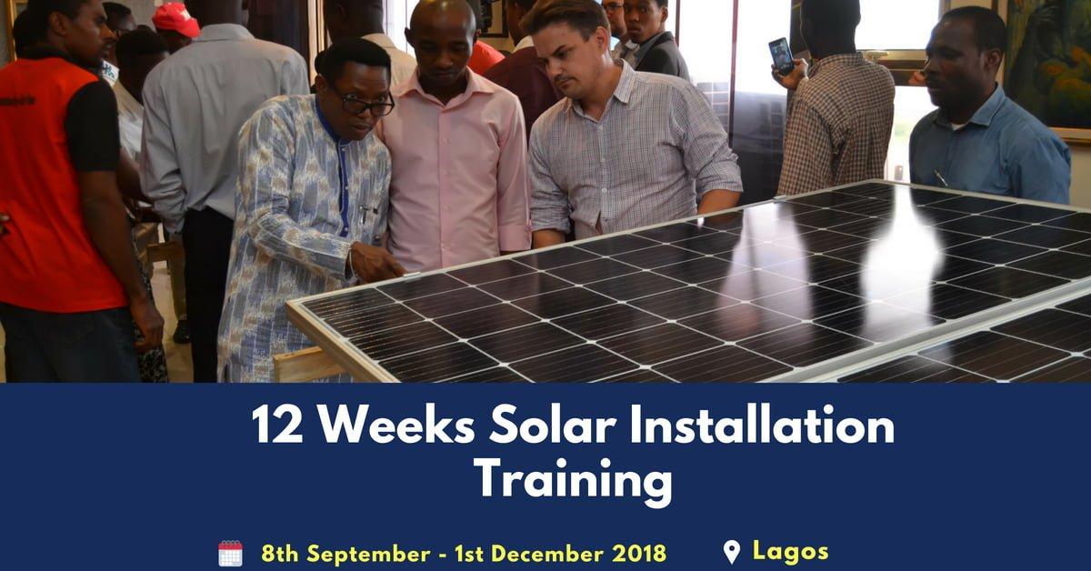 Solar training imgae