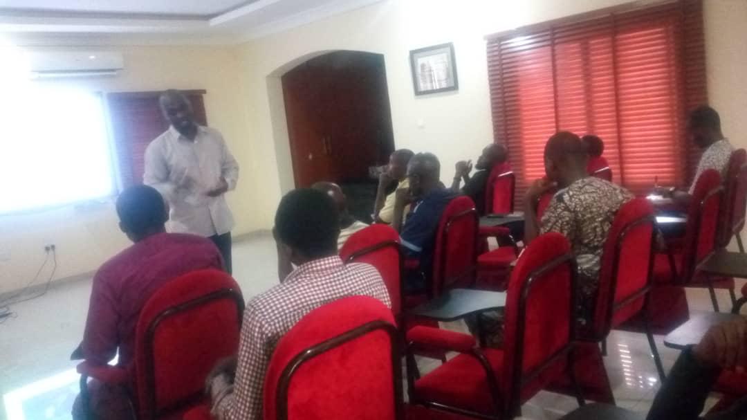 Engineer Oladosu Teaching