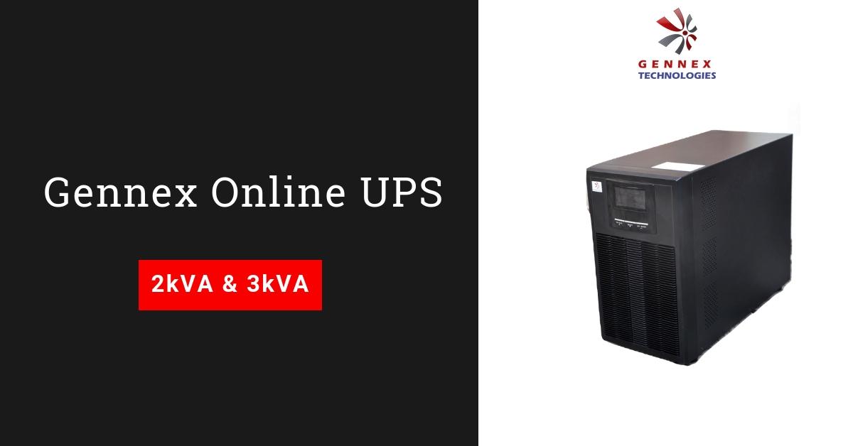 Product Feature: Gennex 2kVA & 3kVA Online UPS