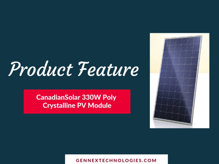 Product Feature 330W Poly